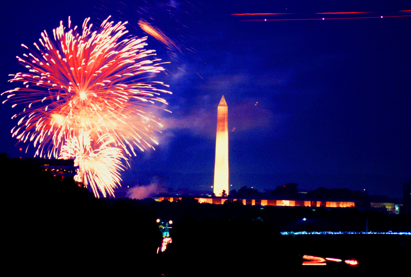 July 4, 2002 @ The Washington Monument