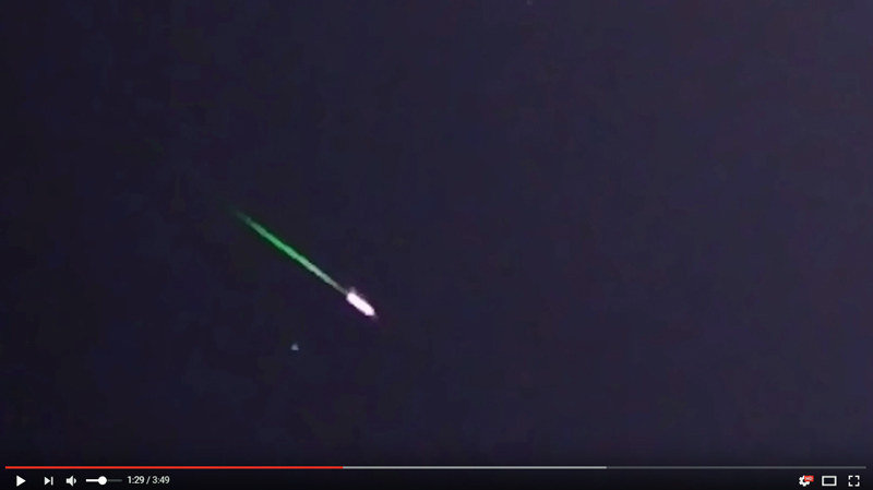 11-21-2016 UFO Cylinder Green Beam WARP Analysis