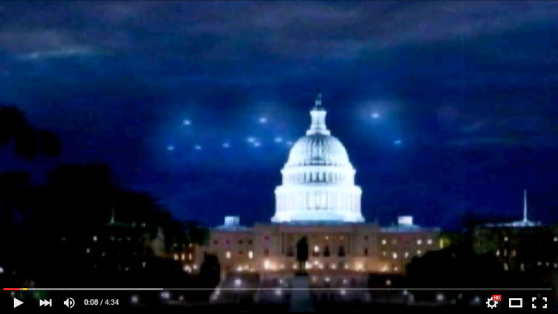 1952 US Capitol UFO Flyby Film Analysis