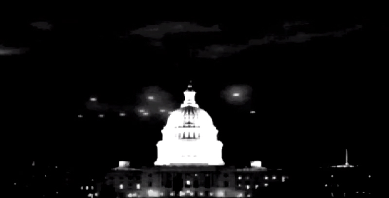 1952 US Capitol UFO Flyby Film Analysis 1952 2