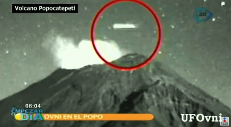 2-22-2013 Popocatepetl Volcano Band of Light Cigar
