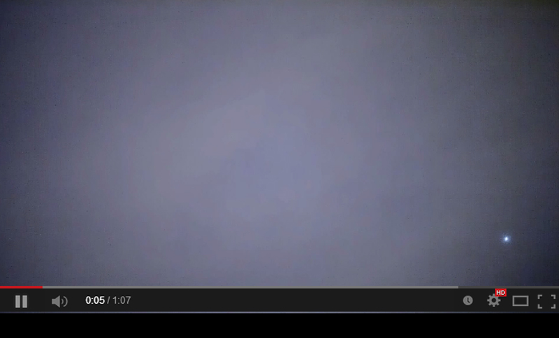4-24-2014 UFO Portal 5 (60 FPS capture) Washington DC