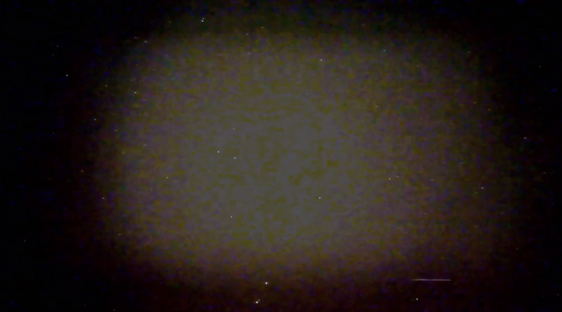 5-07-2020 UFO Band of Light Portal Hyperstar 470nm IR RGBKL Analysis