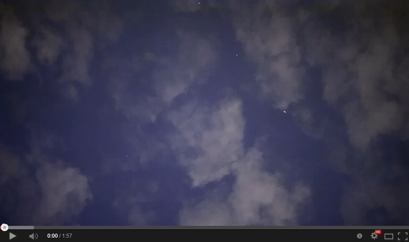 8-19-2014 UFO SM in Clouds WARP Analysis