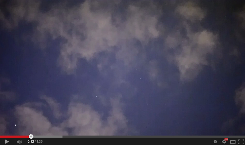 8-20-2014 UFO SM in clouds WARP Analysis