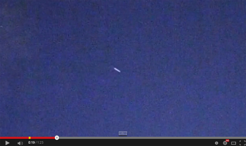 9-06-2014 UFO Green Beam SM WARP SDM Portal 1 Analysis