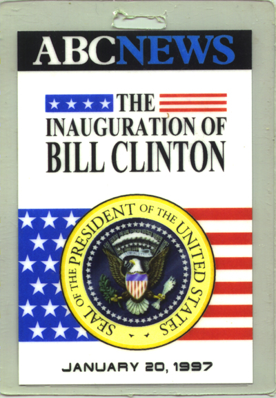 President William Clinton for ABC News: Contractor: Wilbur Allen