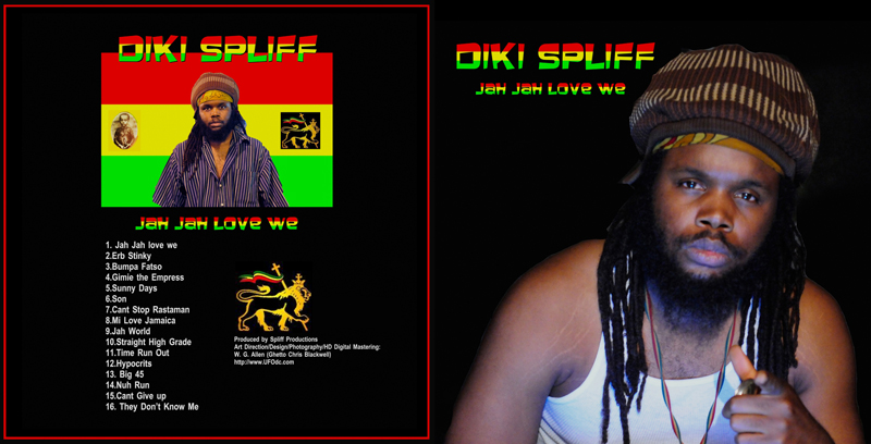 Diki Spliff and Spliff Productions: UFO Records Premiere  Reggae Artist