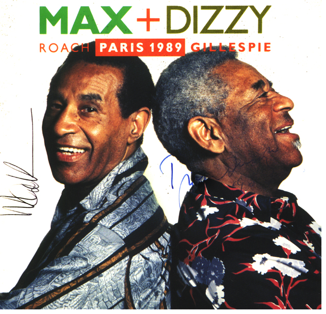 Dizzy and Max Roach