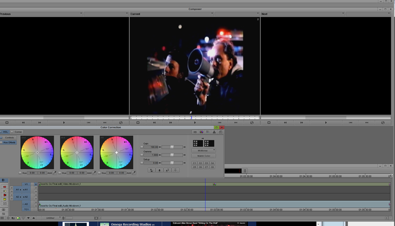 Media Composer Color Correction