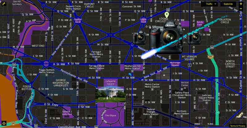Logan Circle spatial  view 1 camera array positioning example2 trajectory