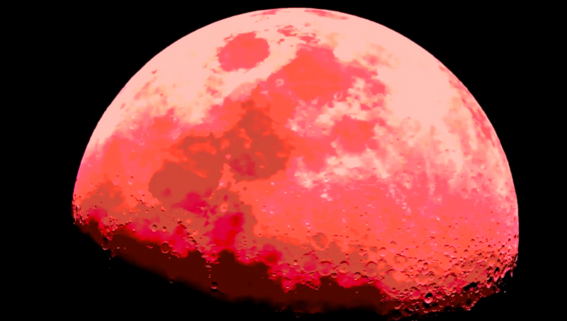 Lunar Surface Hyper Color IR