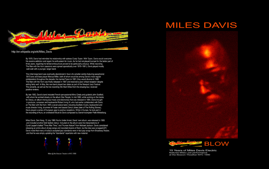 Miles Davis: Blow 15 Years of Miles Davis Electric