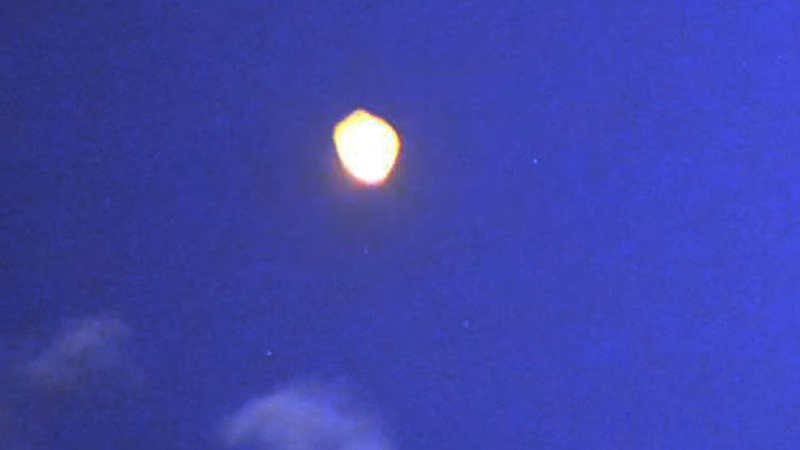 Enhanced frame UFO Washington DC 4-26-2013 (Enlarged)