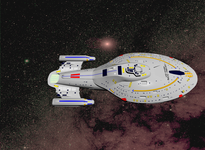 Voyager with UFO Colors Applied