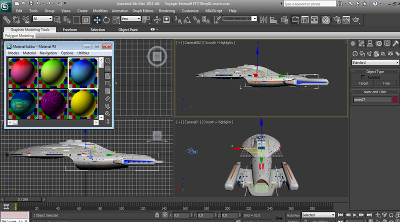 Carpenters P-51 ETCTBmp gradients applied to Starship Voyager