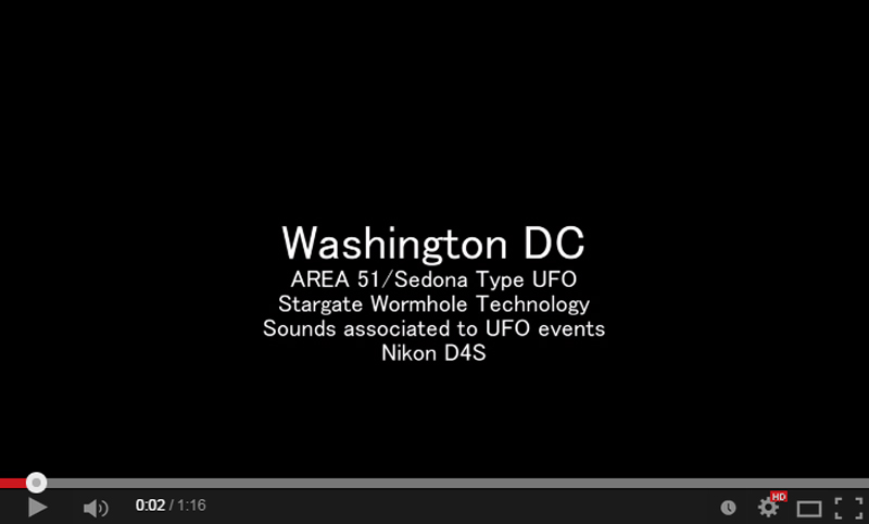Washington DC UFO Final Analysis for Lecture Part 3