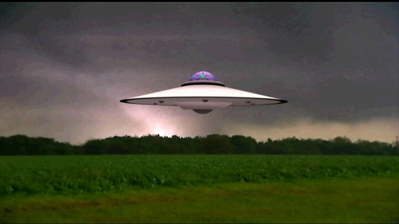 Saucer Materialization: The Weather Channel UFO